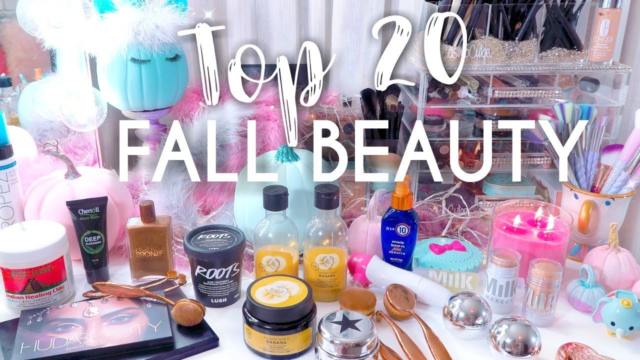 Best Fall beauty products 2017 - My Top 20