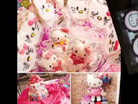 Hello Kitty Baby Shower Decor Ideas Youtube