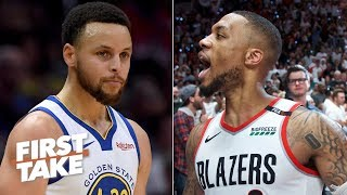 Damian Lillard is the closest player to Steph Curry in the NBA - Max Kellerman | First Take