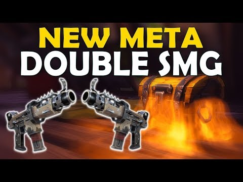 DOUBLE SMG NEW META | WHAT'S WITH ALL THESE CHESTS?! - (Fortnite Battle Royale)