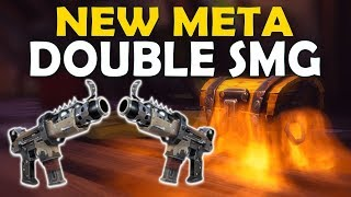 DOUBLE SMG NEW META   WHAT'S WITH ALL THESE CHESTS?! - (Fortnite Battle Royale)