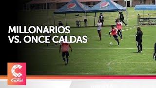 Millonarios vs  Once Caldas, en el Campín y con VAR