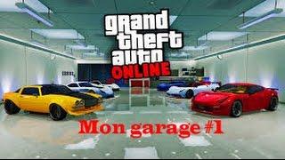 MON GARAGE DE LUXE #1 - GTA5 ONLINE (+ 5 000 000$)