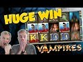 BIG WIN!!! Vampiers Huge Win - Casino Games - Slots (gambling)