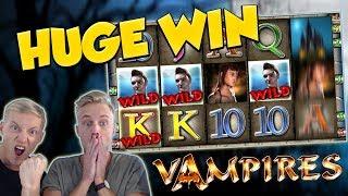 BIG WIN!!! Vampiers Huge Win - Casino Games - Slots (gambling)