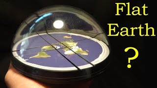 Solving the ACTUAL Flat Earth Puzzle (100% proof)