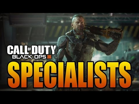CALL OF DUTY BLACK OPS 3 ALL SPECIALISTS SPECIAL MOVES (Abilities)