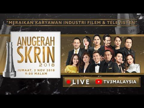 [LIVE] Anugerah Skrin 2018  #ASK2018