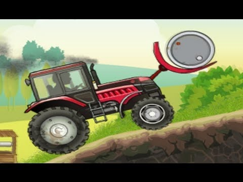 Tractor Game For Children Funny Kids Videos [HD]
