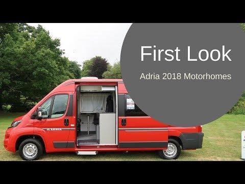 First Look  Adria 2018 Motorhomes