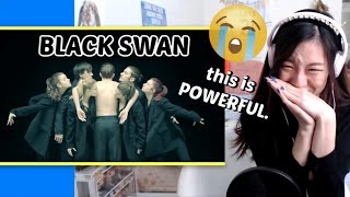 BTS (방탄소년단) 'BLACK SWAN' Art Film performed by MN Dance Company REACTION & LYRICS / SONG MEANING