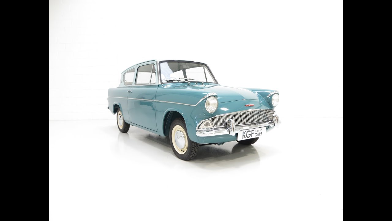A Spectacular Ford Anglia 105e Deluxe With Just Two Owners