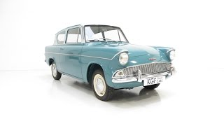 A Spectacular Ford Anglia 105E Deluxe with Just Two Owners from New - SOLD!