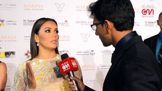 DIFF - #dONd gets charmed by the charitable Eva Longoria at the Global Gift Gala