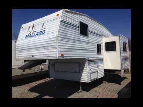 2000 MALLARD 235M FIFTH WHEEL BY FLEETWOOD OHIO CAMPER RV