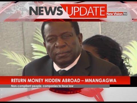 Return money hidden abroad - Mnangagwa