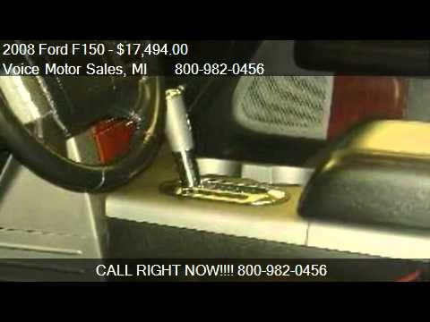 2008 ford f150 lariat 4x4 for sale in kalkaska mi 49646 for Voice motors kalkaska michigan