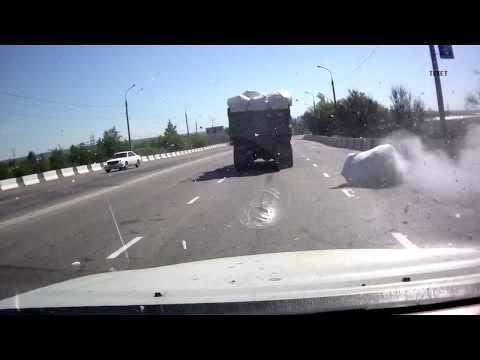 ДТП и аварии. Жесть на дороге. Видео #13