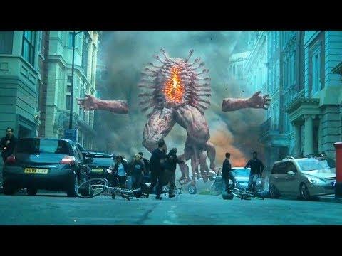 恐怖的地狱生物出现,数不清的手脚还能喷火,人类遭遇屠杀!