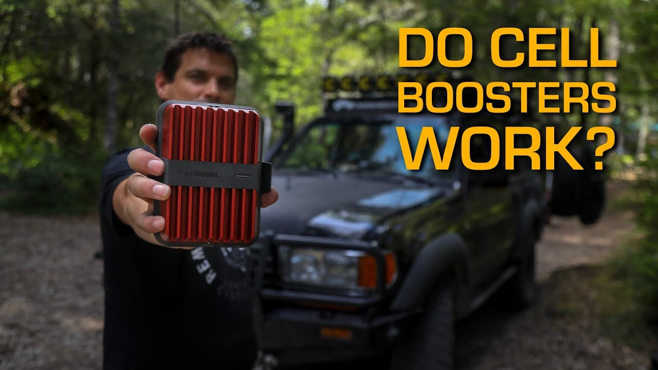 Do Cell Boosters Work? WeBoost Drive Reach!