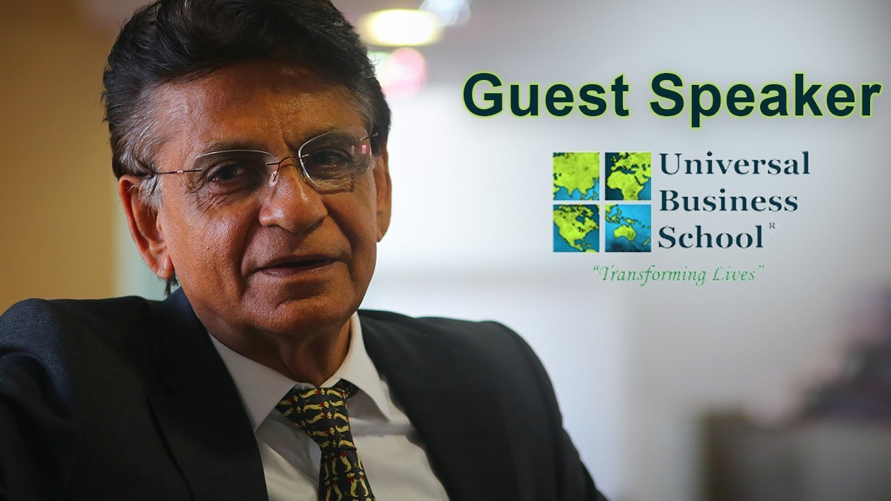 Download Guest Session   Haresh Sippy   TEMA India   Universal Business School, Karjat