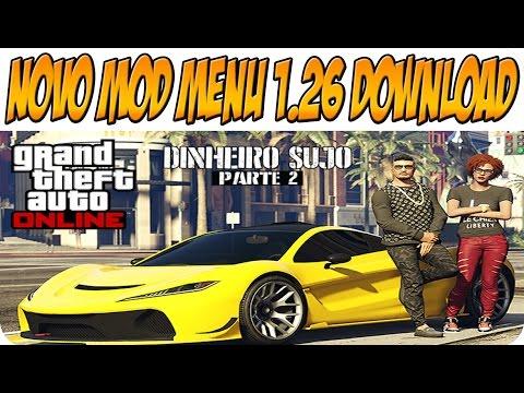 GTA V Online 1.26: Novo MOD MENU Dinheiro sujo Parte 2 LT 3.0 Download (Xbox 360/PS3)