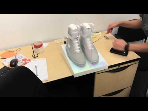 UNBOXING the NEW self-lacing Nike Mag!