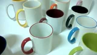 Чашка с цветной ручкой и ободком.(, 2014-02-05T15:34:16.000Z)