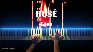 ROSÉ - GONE (Piano Cover) BLACKPINK видео