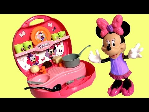 Minnies Mini Kitchen Bowtique Using Play Doh Disney Minnie Mouse