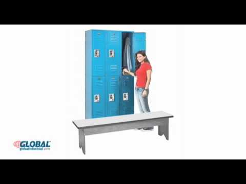 Locker room benches school gym facility youtube