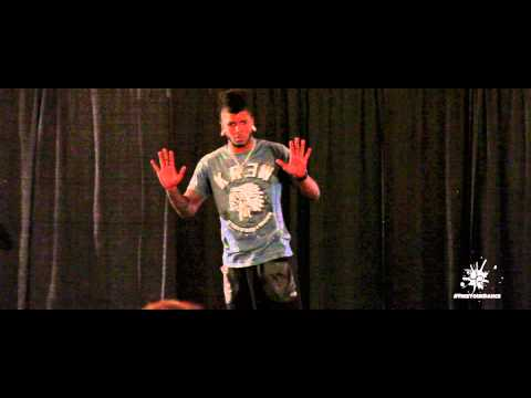 """Cyrus """"Glitch"""" Spencer - All Of Me:  Chicago Showcase Solo"""