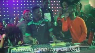 """SUPERB DJ MONDOLLAR @ DJAN KNIGHT OF THE TURNTABLE. """"SPIN 5"""""""