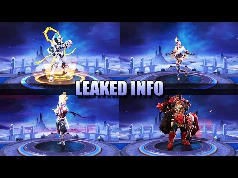 LEAKED INFO - LOT'S OF NEW SKINS 👌