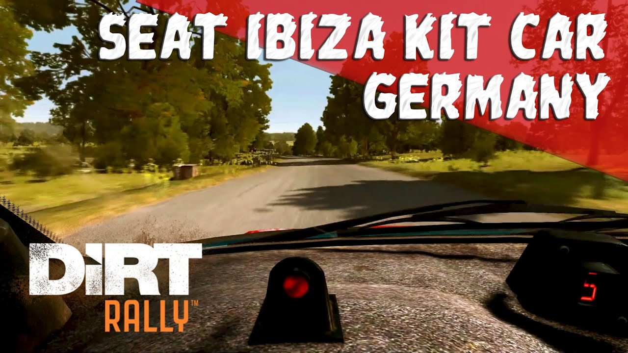 dirt rally ps4 seat ibiza kit car germany onboard. Black Bedroom Furniture Sets. Home Design Ideas