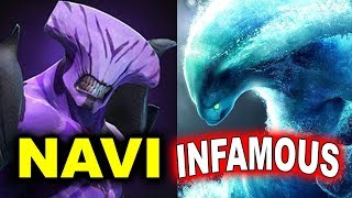 NAVI vs INFAMOUS - AMAZING GAME - GESC INDONESIA MINOR DOTA 2