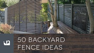 Gambar cover 50 Backyard Fence Ideas