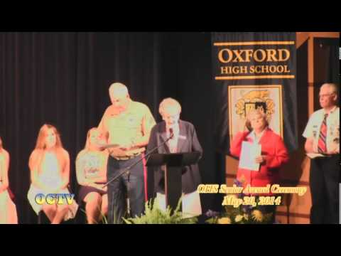 Oxford High School: Senior Awards Ceremony