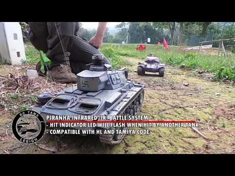 What is RC Tank IR Battle