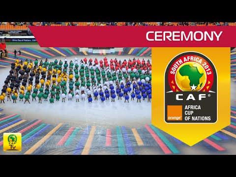 CAN Orange 2013 - Cérémonie d'ouverture - Opening ceremony