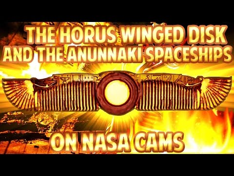 NO AUDIO: The Horus WINGED DISK and the ANUNNAKI Spaceships ...