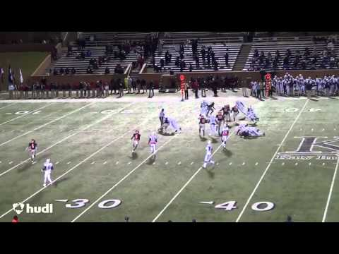 Bryan Sturges 2014 Football Highlights Seven Lakes High School