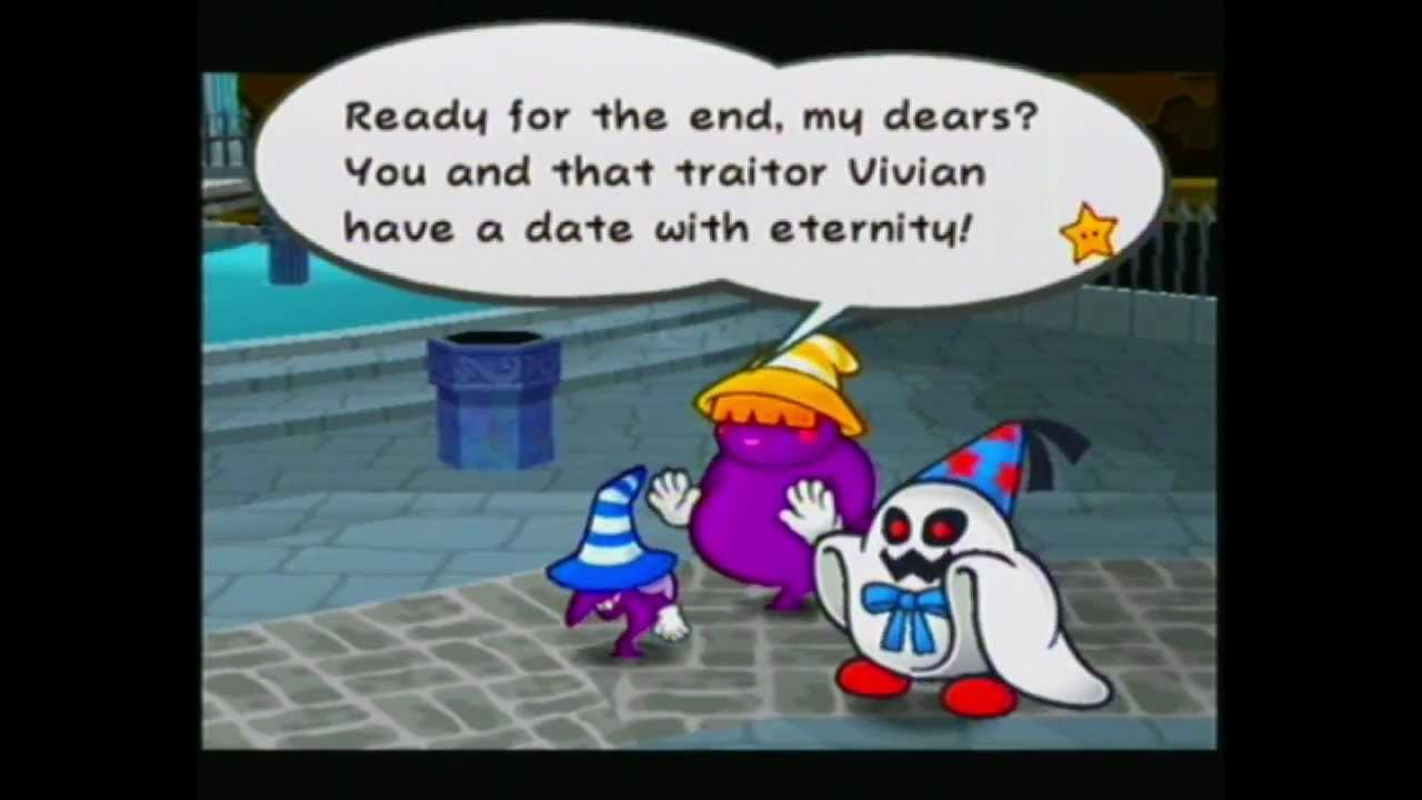Paper Mario: TTYD - 179 - Chapter 8 - Bosses: Shadow Sirens + Doopliss -  YouTube
