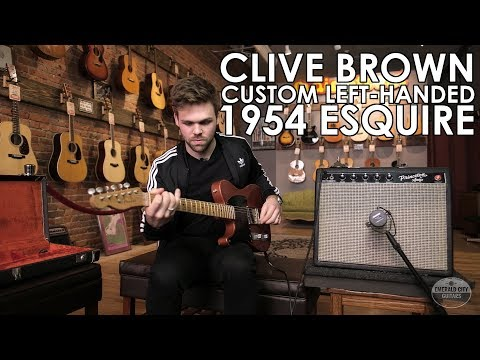 """Pick of the Day"" - Clive Brown Custom 1954 Esquire Relic Left-handed"