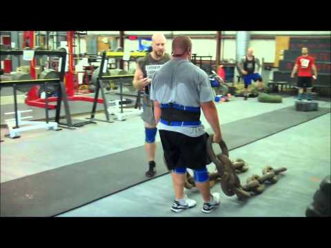 Strongman Training @ Brute Strength Gym 6.16.12