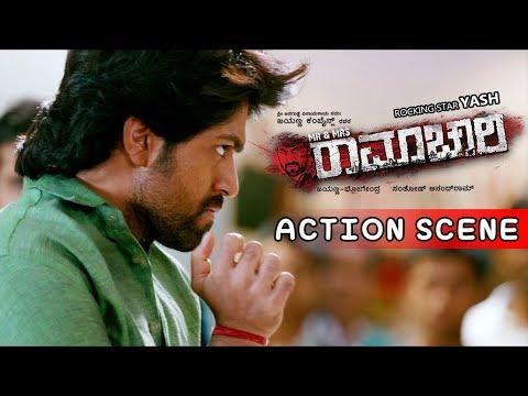 Yash Movies | Yash Shopping Mall Fight Scenes | Mr And Mrs Ramachari Kannada Movie