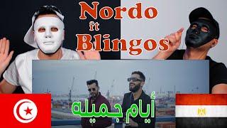Nordo ft. Blingos - Layem   الأيام / Reaction Show 🇹🇳