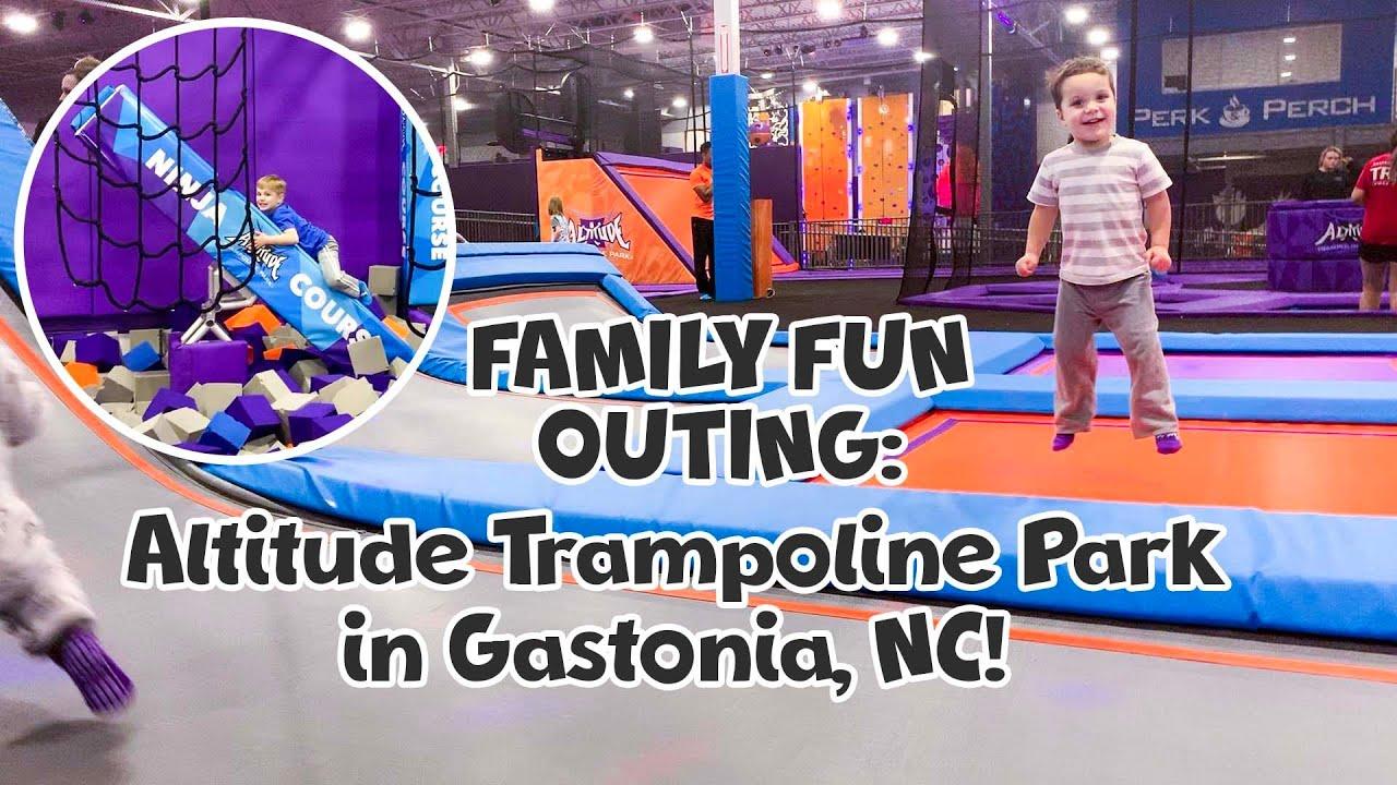 Download FAMILY FUN - Altitude Trampoline Park in Gastonia!
