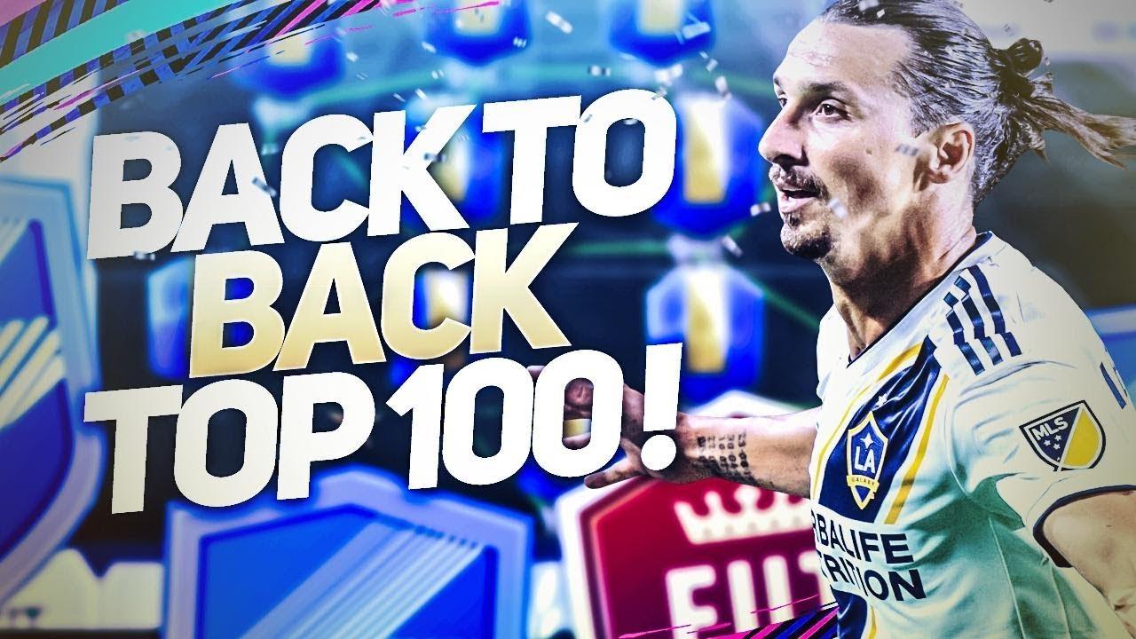 FIFA 19 - TOP 100 AVEC IBRAHIMOVIC TOTS OU AUBAMEYANG 93 ?