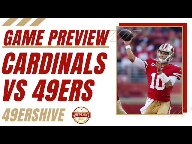 Week 1 Preview: Cardinals vs 49ers